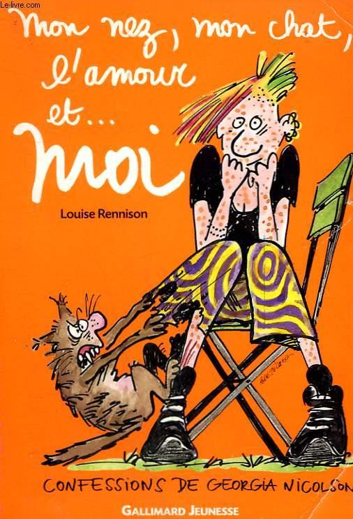 MON NEZ, MON CHAT, L'AMOUR ET ... MOI.