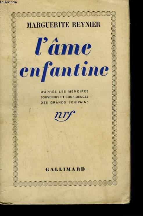 L'AME ENFANTINE.