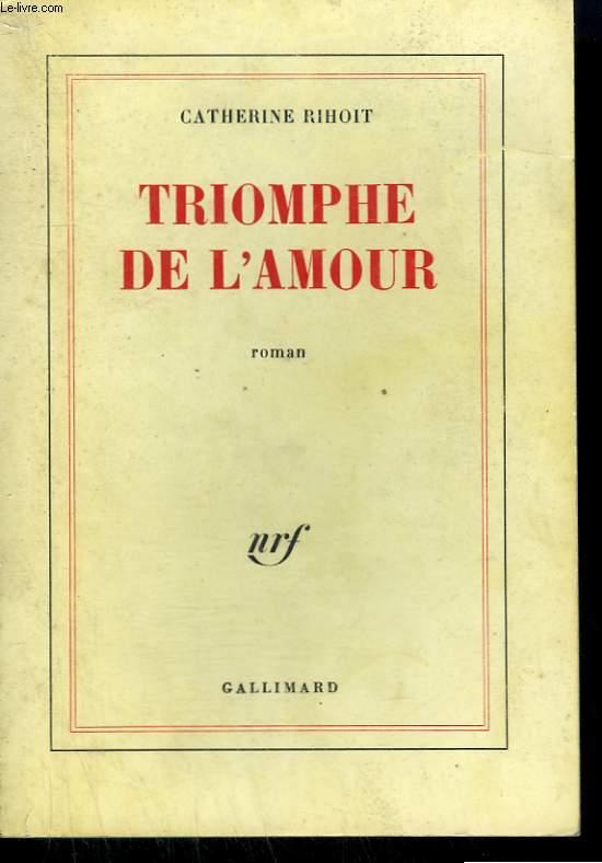TRIOMPHE DE L'AMOUR.