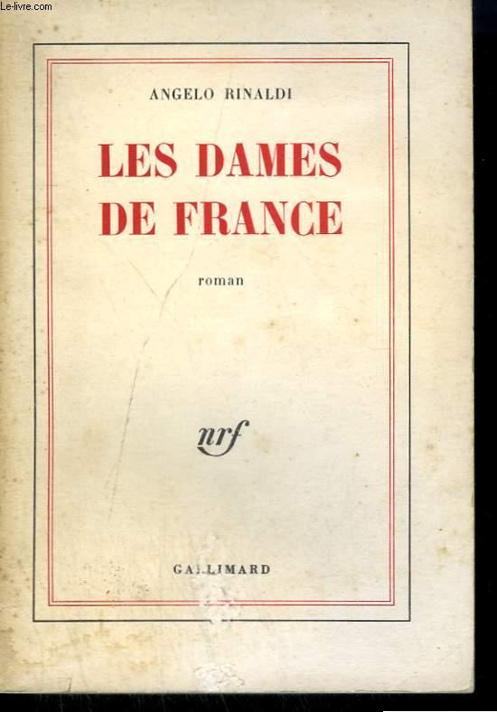 LES DAMES DE FRANCE.
