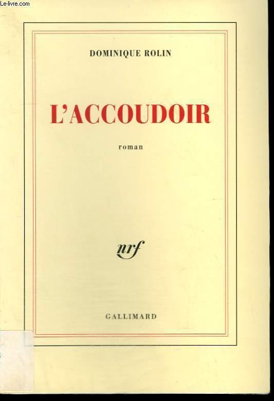 L'ACCOUDOIR.