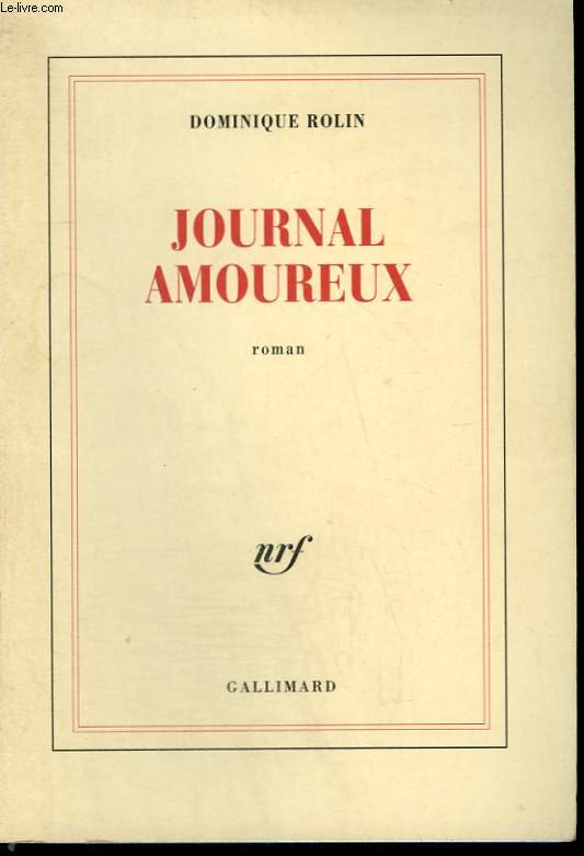 JOURNAL AMOUREUX.