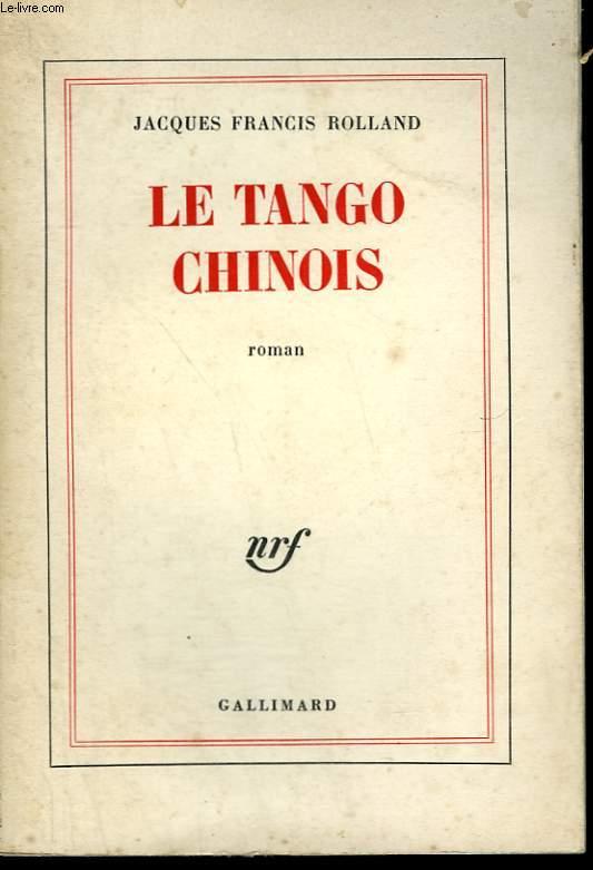 LE TANGO CHINOIS.