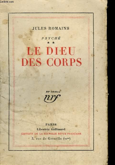 PSYCHE TOME 2 : LE DIEU DES CORPS.