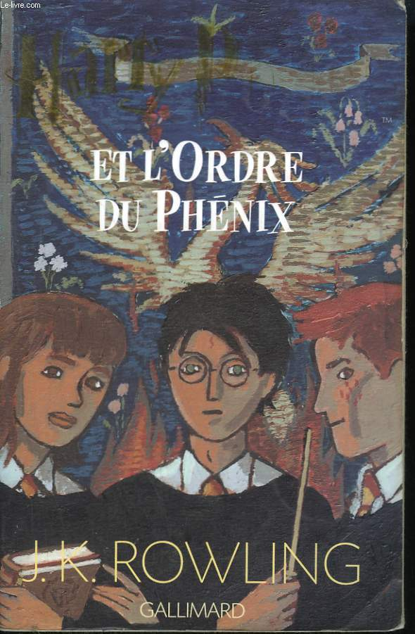 HARRY POTTER ET L'ODRE DU PHENIX.
