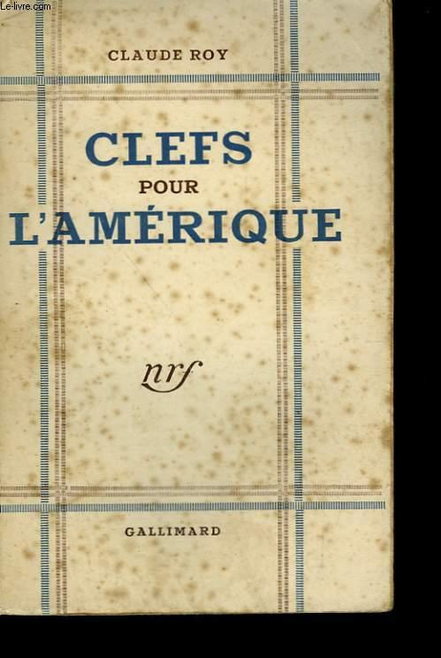 CLEFS POUR L'AMERIQUE.