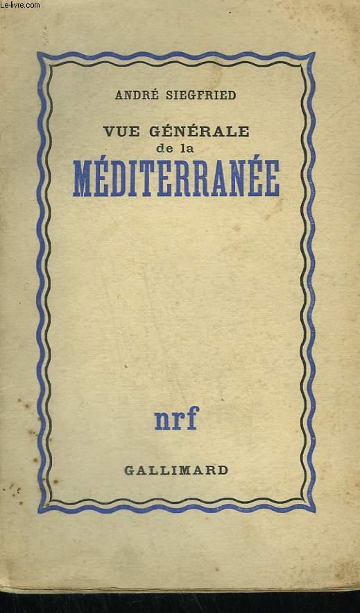 VUE GENERALE DE LA MEDITERRANEE.