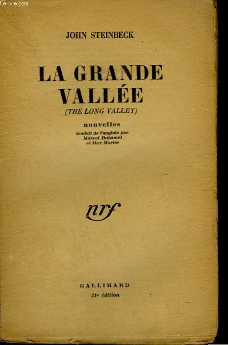 LA GRANDE VALLEE. ( THE LONG VALLEY ) .