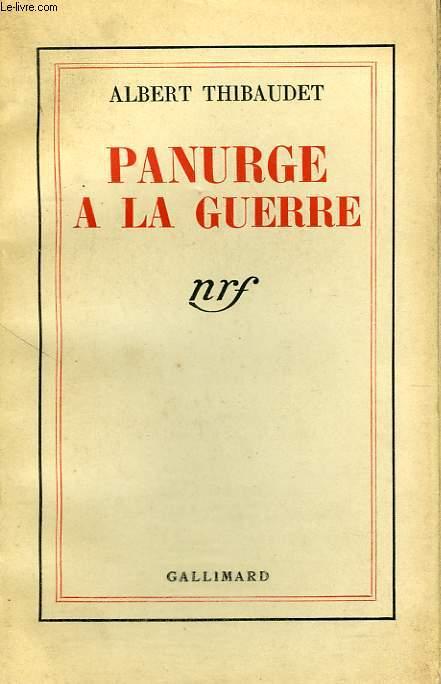 PANURGE A LA GUERRE.