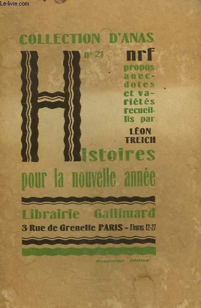 HISTOIRES POUR LA NOUVELLE ANNEE. COLLECTION D'ANAS N° 21