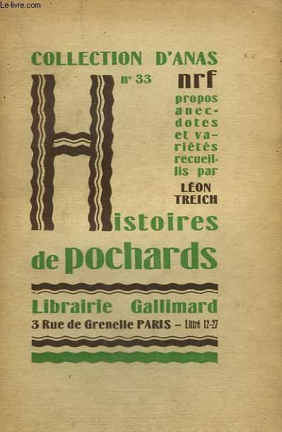 HISTOIRES DE POCHARDS. COLLECTION D'ANAS N° 33