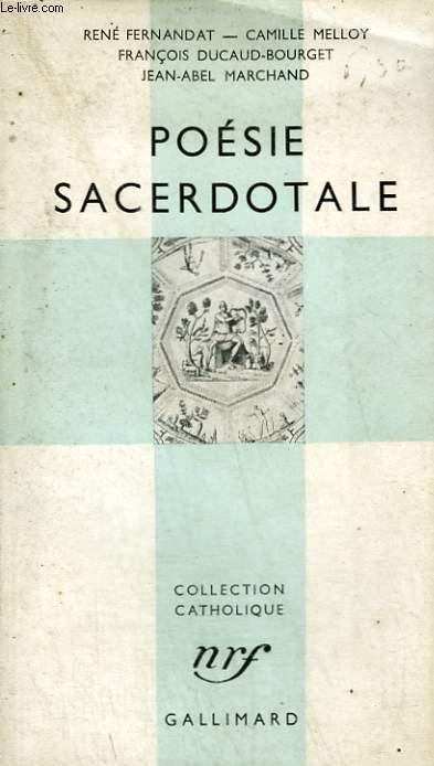 POESIE SACERDOTALE. COLLECTION CATHOLIQUE.