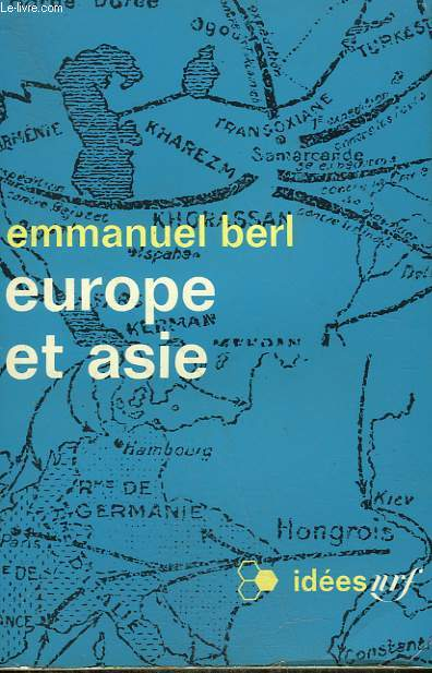 EUROPE ET ASIE.  COLLECTION : IDEES N° 199