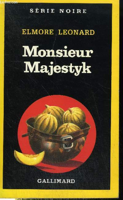 COLLECTION : SERIE NOIRE N° 2189. MONSIEUR MAJESTYK.