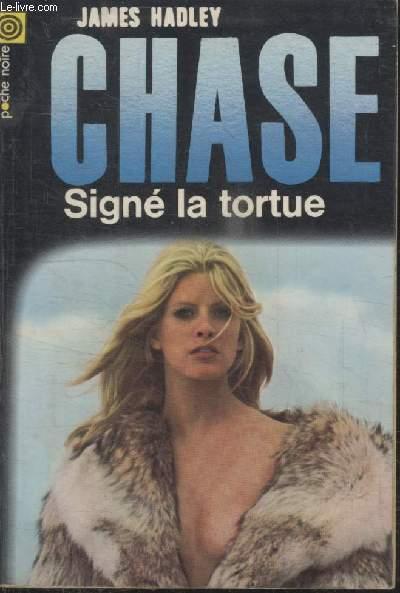 COLLECTION LA POCHE NOIRE. N°  124 SIGNE LA TORTUE.