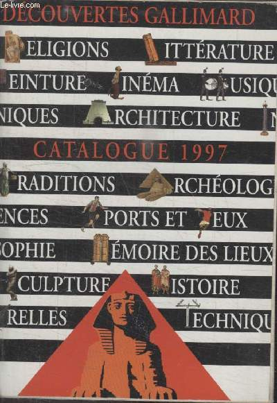 COLLECTION LA BIBLIOTHEQUE GALLIMARD. CATALOGUE 1997.