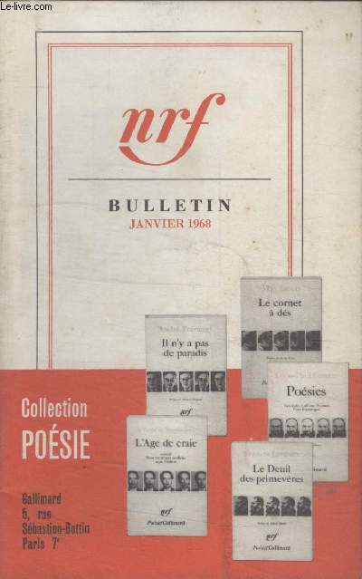 BULLETIN JANVIER 1968 N°228.
