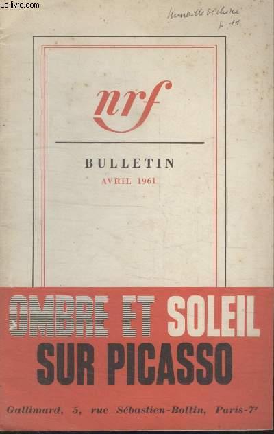 BULLETIN AVRIL 1961 N°159.