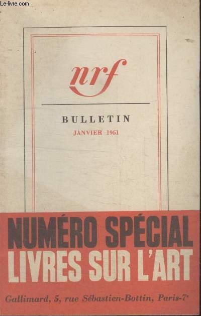 BULLETIN JANVIER 1961 N°156.