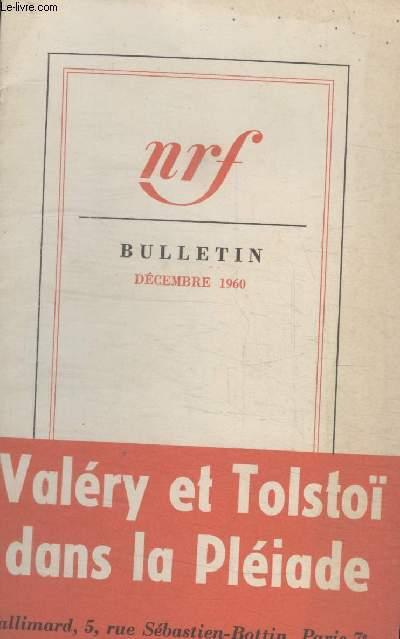 BULLETIN DECEMBRE 1960 N°155.