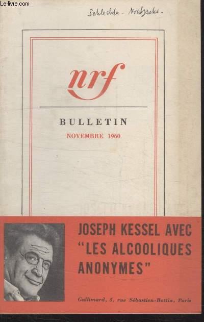 BULLETIN NOVEMBRE 1960 N°154.