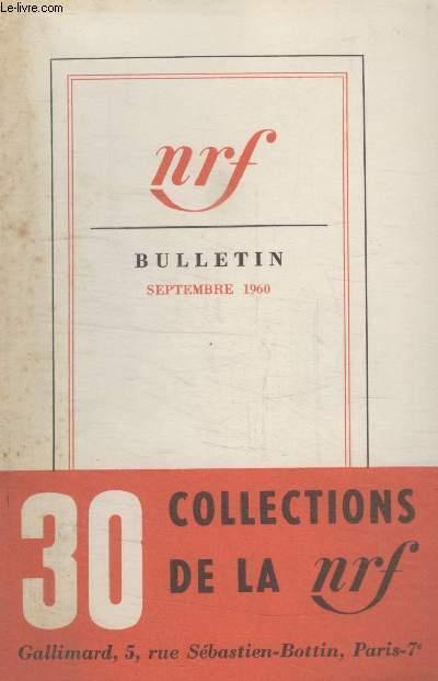 BULLETIN SEPTEMBRE 1960 N°152.