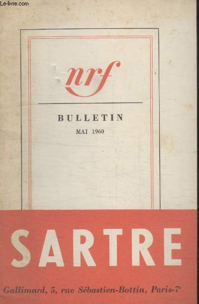 BULLETIN MAI 1960 N°149.