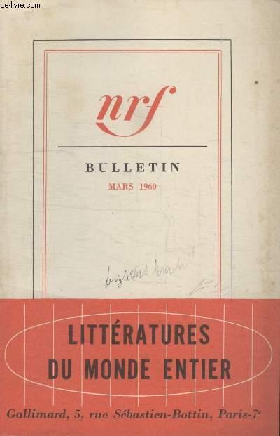 BULLETIN MARS 1960 N°147.