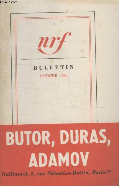 BULLETIN FEVRIER 1960 N°146.