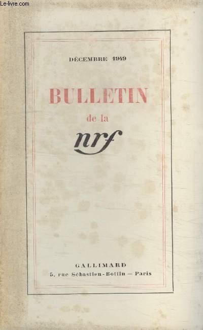 BULLETIN DECEMBRE 1949 N°30.