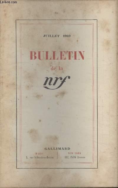 BULLETIN JUILLET 1949 N°25