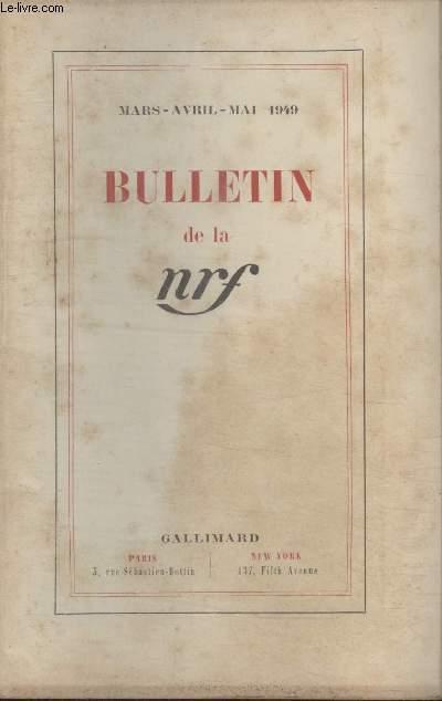 BULLETIN MARS AVRIL MAI 1949 N°21 22 23.