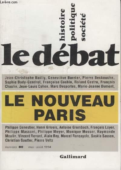 COLLECTION LE DEBAT N° 80.LE NOUVEAU PARIS.