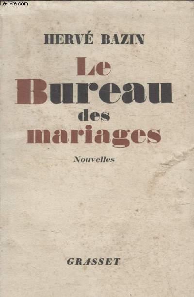 LE BUREAU DES MARIAGES.