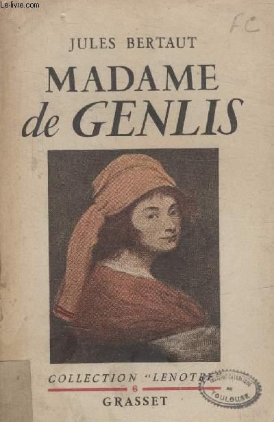 MADAME DE GENLIS.