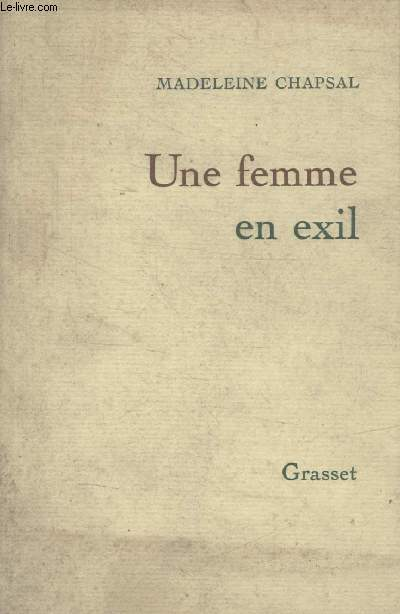 UNE FEMME EN EXIL.