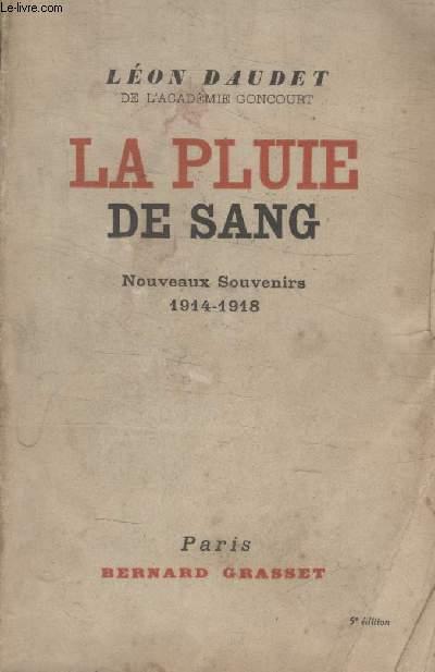 LA PLUIE DE SANG.