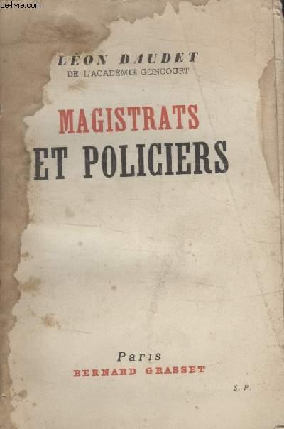 MAGISTRATS ET POLICIERS.