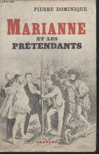 MARIANNE ET LES PRETENDANTS.