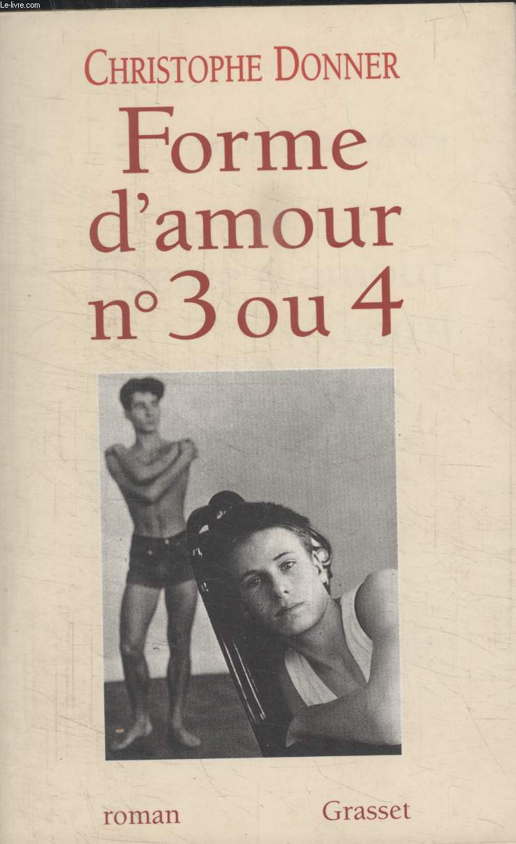 FORME D'AMOUR N°3 OU N°4.