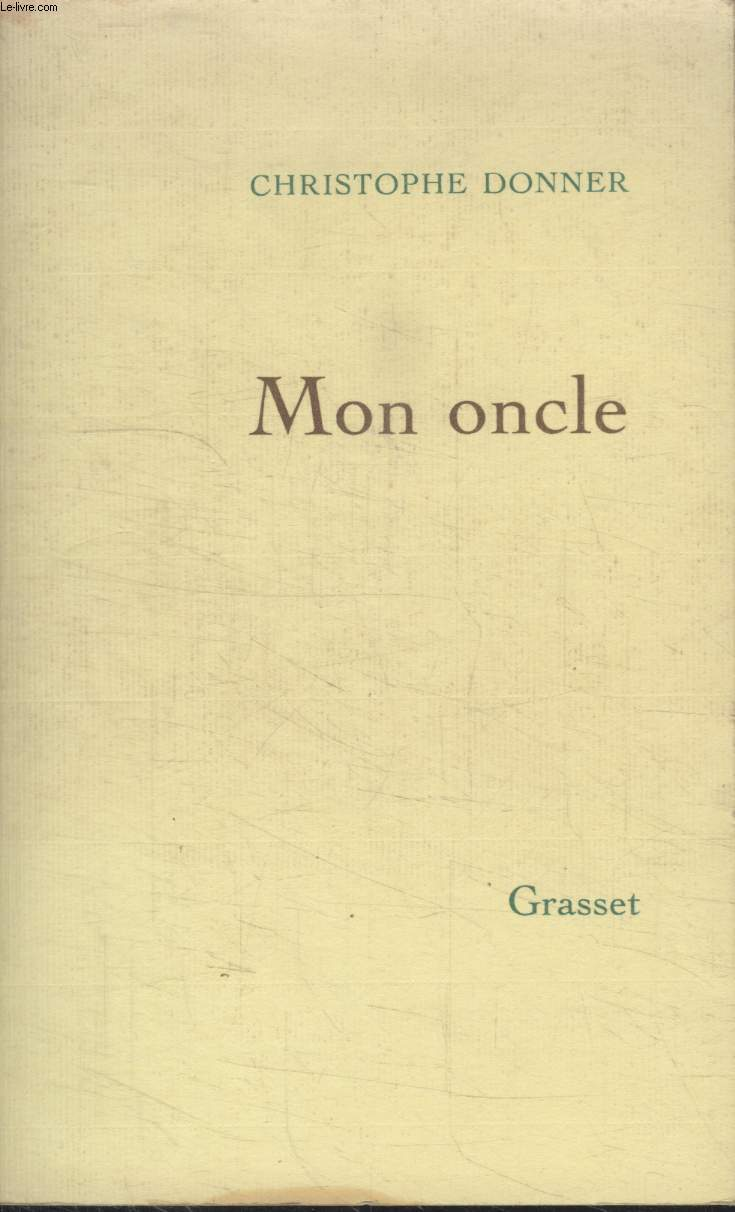 MON ONCLE.