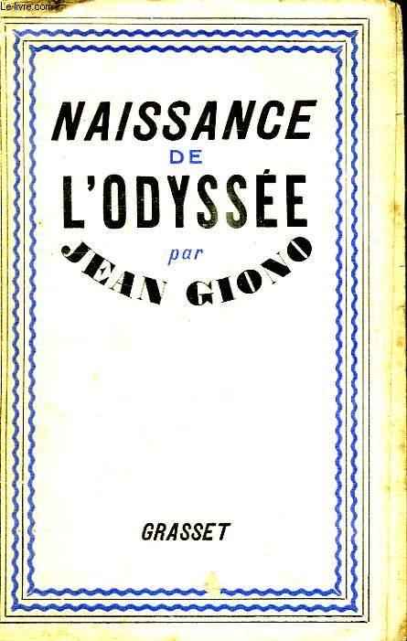 NAISSANCE DE L ODYSSEE.