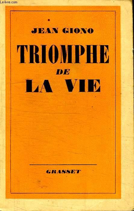 TRIOMPHE DE LA VIE.
