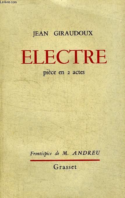 ELECTRE.PIECE EN 2 ACTES.