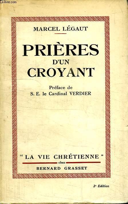 PRIERES D UN CROYANT.