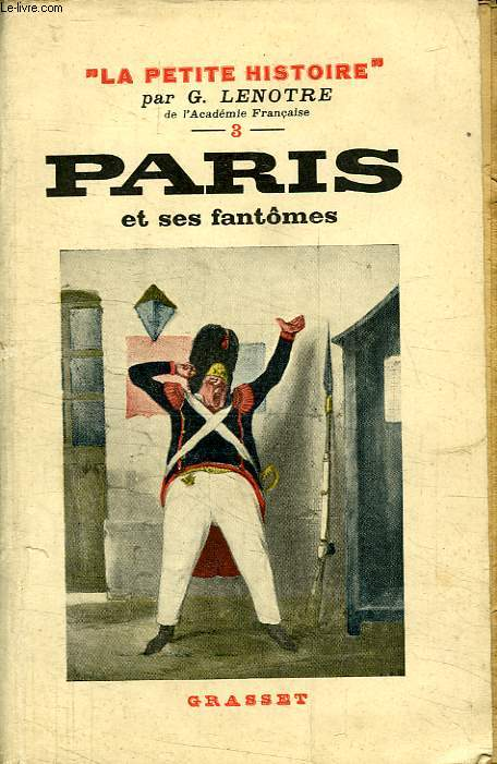 PARIS ET SES FANTOMES.