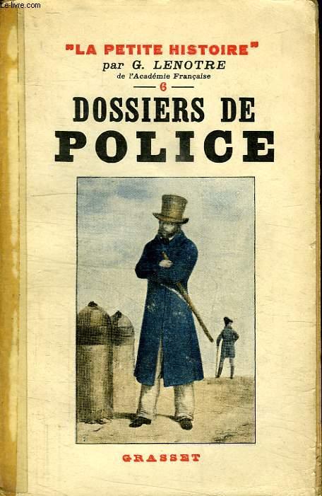 DOSSIERS DE POLICE.