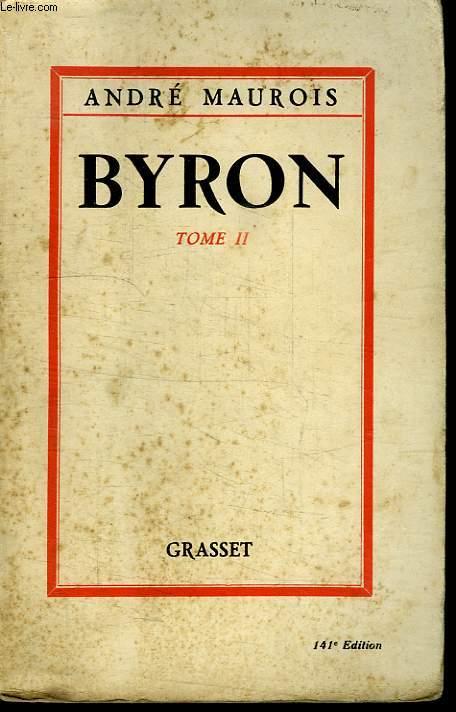 BYRON. TOME 2.