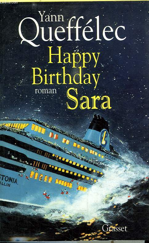 HAPPY BIRTHDAY SARA.