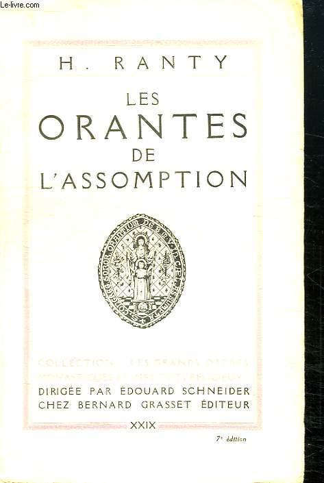 LES ORANTES DE L ASSOMPTION.